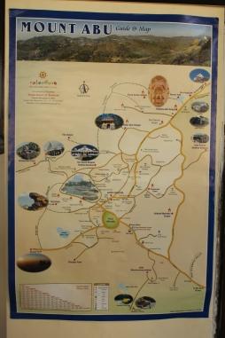 mount abu map